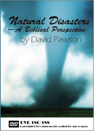 David Pawson - Natural Disasters--A  Biblical Perspective (2 DVDs) - Inspirational Media