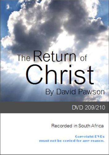 David Pawson -The Return of Christ (2DVDs)