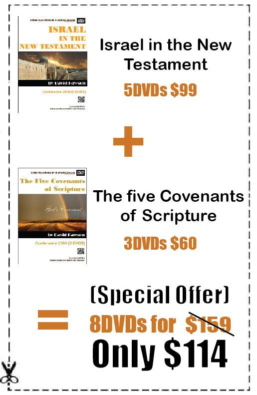 Israel in the NT + 5 Covenants of Scripture = Special Offer - Inspirational Media