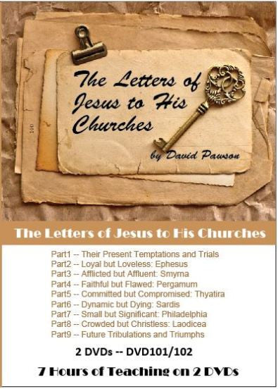 David Pawson - The Letters of Jesus to His Churches (2 DVDs) - Inspirational Media