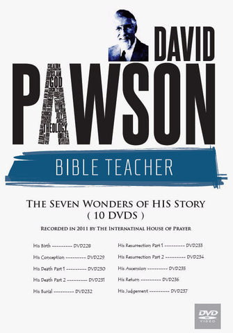 David Pawson: The Seven Wonders of His Story