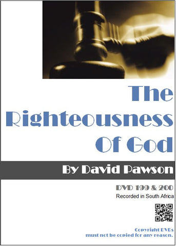 David Pawson - The Righteousness of God