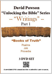 "David Pawson ""Unlocking the Bible""-Writings 9 DVD set - Inspirational Media  - 1"