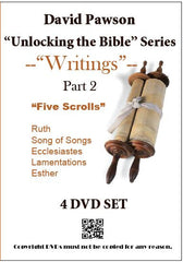 "David Pawson ""Unlocking the Bible""-Writings 9 DVD set - Inspirational Media  - 2"