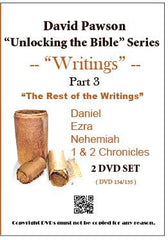 "David Pawson ""Unlocking the Bible""-Writings 9 DVD set - Inspirational Media  - 3"