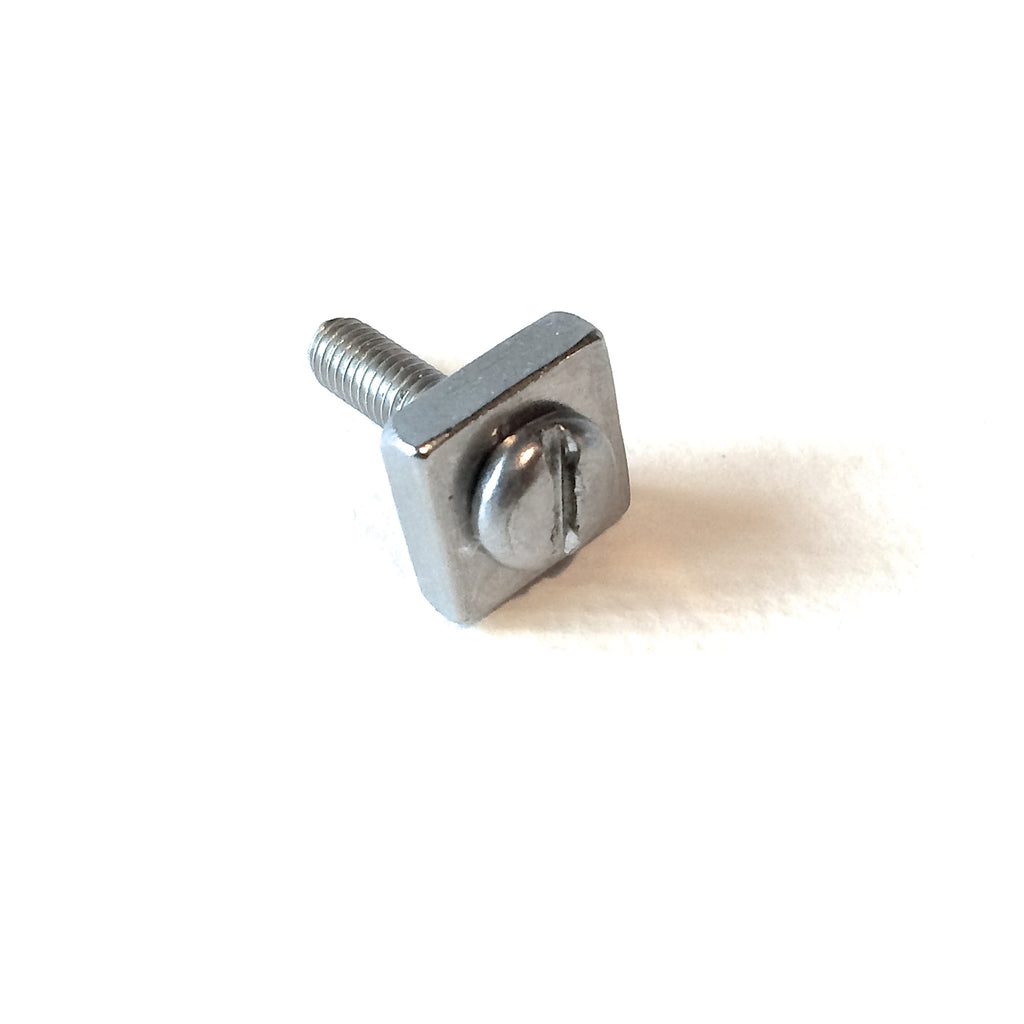 Longboard Fin Box Screw and Plate