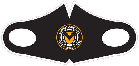 Newport County AFC Face Mask
