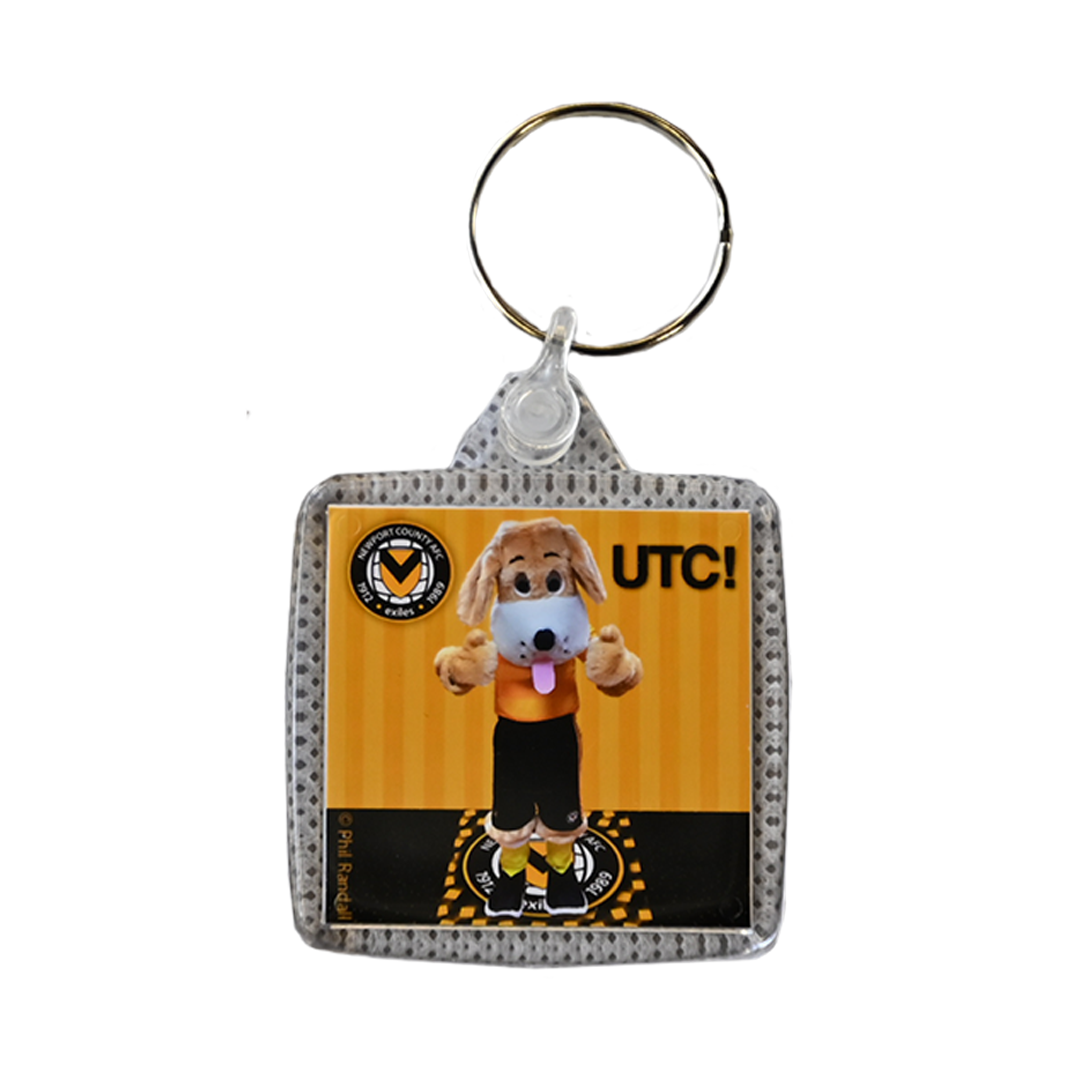 Spytty the Dog keyring
