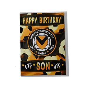 Open image in slideshow, Happy Birthday card - Dad/Son/Brother/Grandson//Husband