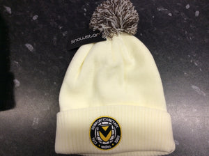 Open image in slideshow, White Bobble Hat