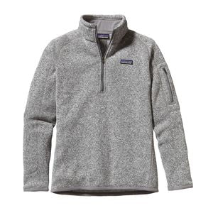 Patagonia Women Better Sweater 1/4 Zip P/O