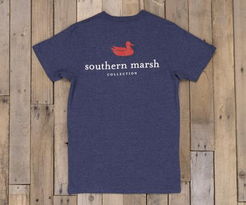 Southern Marsh Men's Authentic Short Sleeve Tee