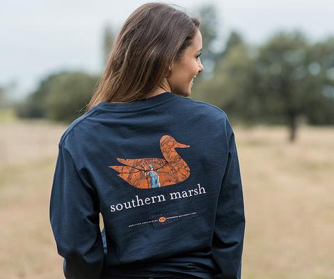 Southern Marsh Authentic Heritage Tee Virginia Long Sleeve