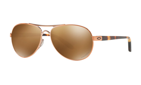 Oakley Eyewear Tie-Breaker Satin Gold/Bronzed Polished