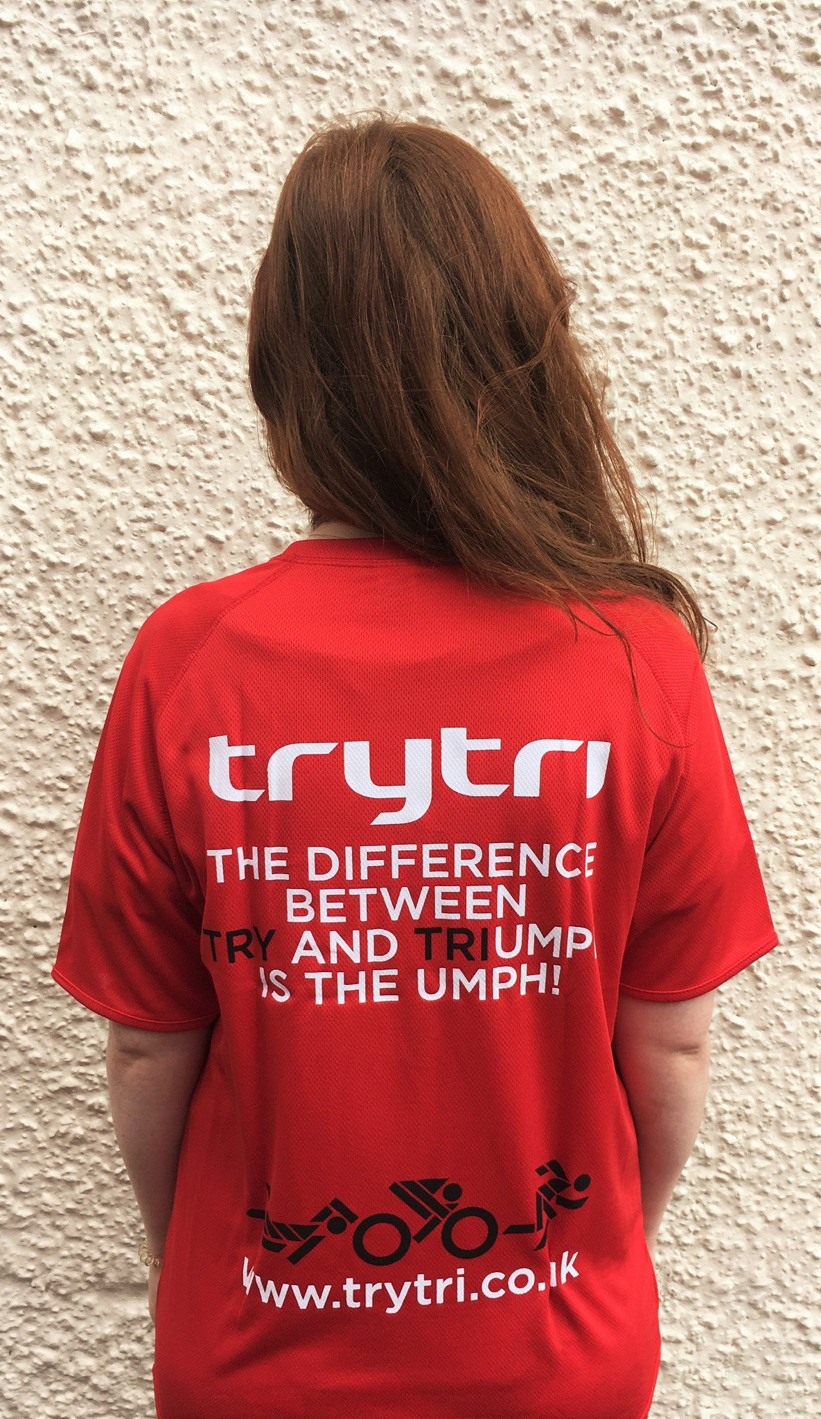 TryTri Red Training Tee
