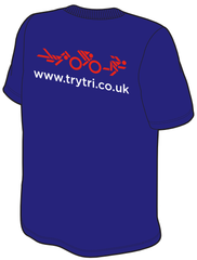 St Swithuns Triathlon Cotton Tee