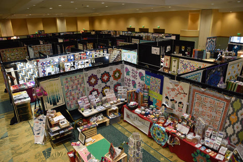 Aerial view of RTS Booth