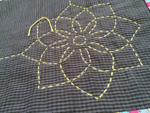 Big Stitch Quilting - Flower Motif