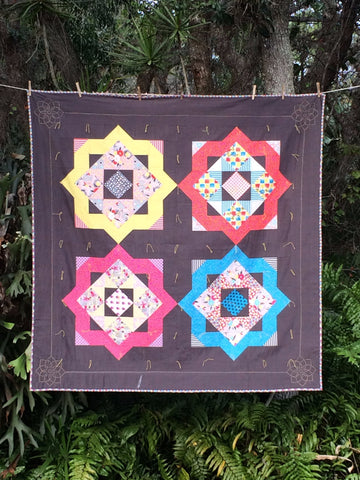 All Squared Up - Tie Quilt