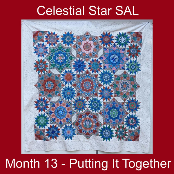 Celestial Star SAL - Month 13 - Putting It Together