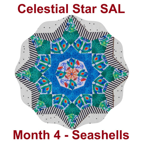 Celestial Star - Month 4 - Seashells