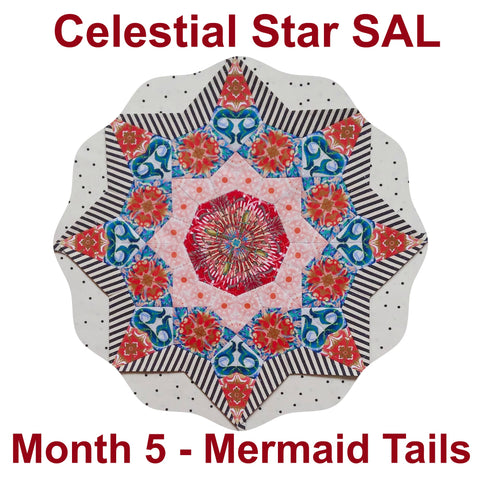 Celestial Star SAL - Month 5 - Mermaid Tails