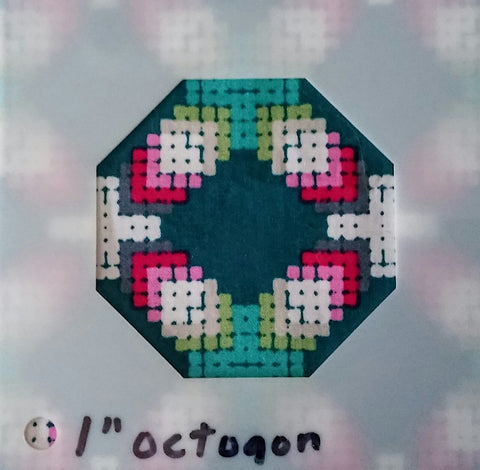 Decadence SAL - Month 3 - Cross Stitch Octagon - Block 6