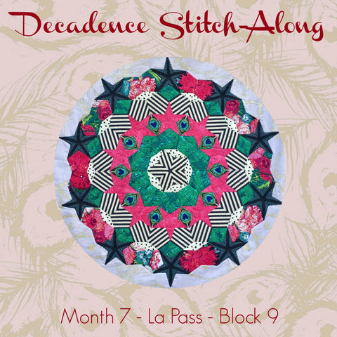 Decadence SAL - Month 7 - La Pass - Block 9