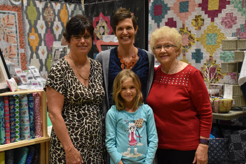 Four Generations of Quilters