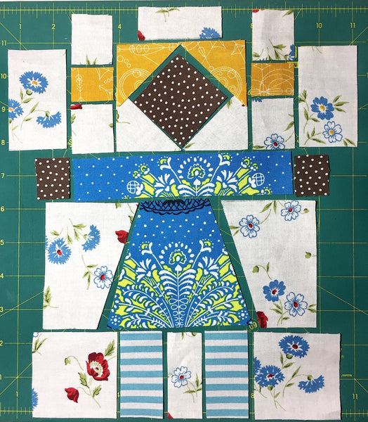 Girl Next Door QAL - Month 4 - Girl Block