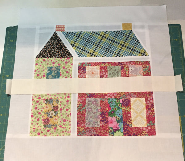 Girl Next Door - Month 10 - Quilt Assembly