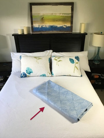 How to Fold a Quilt - Step 5