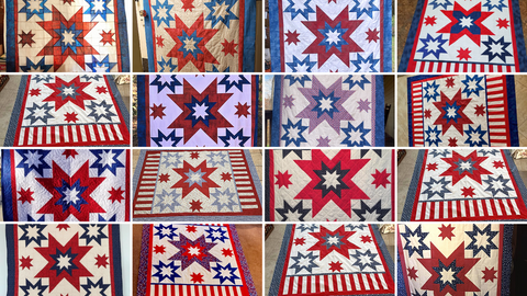 All American Quilt Along Red Thread Studio