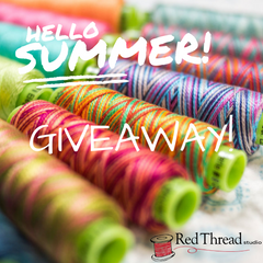 Red Thread Studio Summer 2019 Eleganza Thread Giveaway