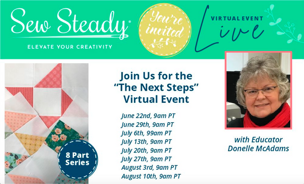 Next Steps Template Quilting with Donelle McAdams