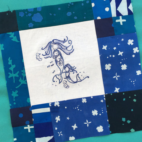 Mermaiden Tales Block of the Month - Register Anytime!