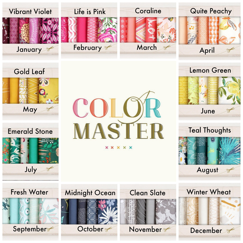 Art Gallery Fabrics Color Master - Fabric Bundle of the Month ...