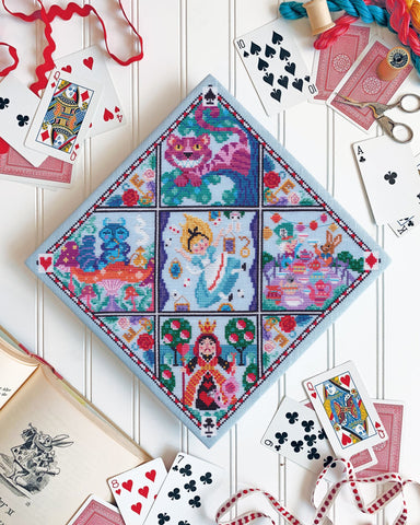 Alice in Wonderland Cross Stitch Design by Satsuma Street