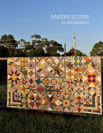 Bakers Dozen Quilt Pattern designed by Jen Kingwell