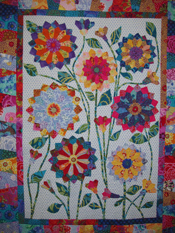 Big Blooms Pattern by Wendy Williams **On Order and Arriving Mid-November - Reserve Yours Now**