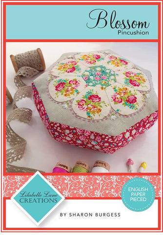 Blossom Pincushion - Creative Card - by Lilabelle Lane Creations