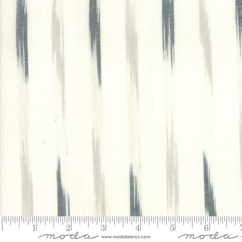 Boro Woven Foundations by Moda Fabrics - 12561 37 Bold Strokes on Cream