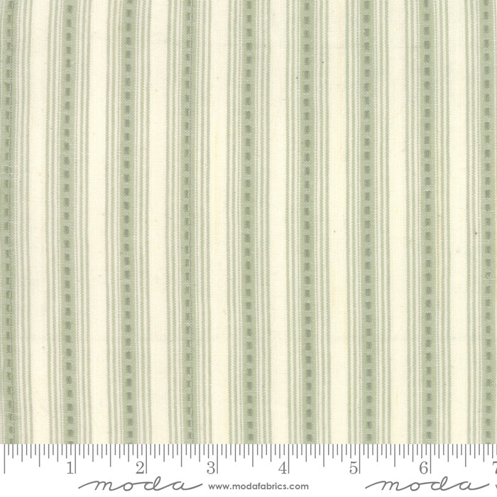 Boro Woven Foundations by Moda Fabrics - 12561 13 Dash Stripes on Cream