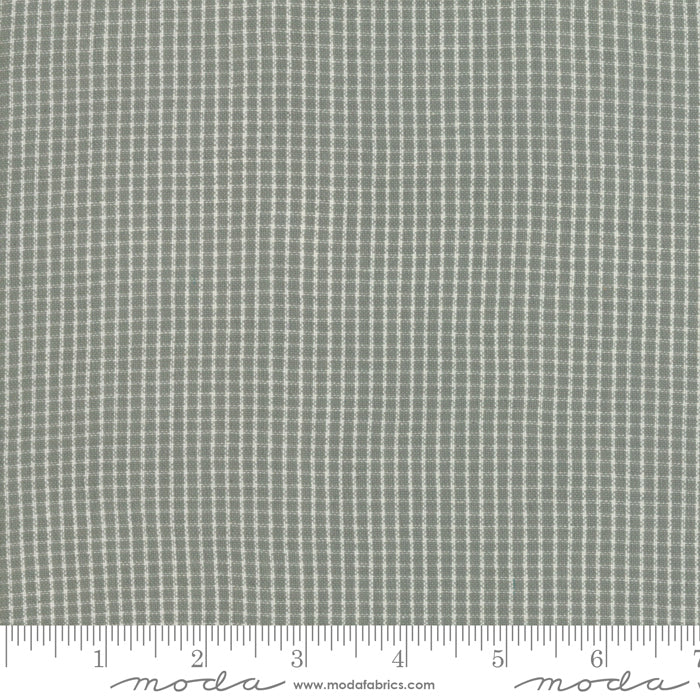 Boro Woven Foundations by Moda Fabrics - 12561 33 Dovetail Mini Plaid