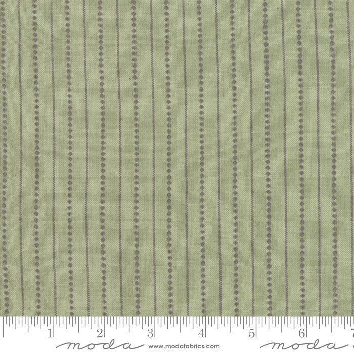 Boro Woven Foundations by Moda Fabrics - 12561 25 Dot Stripes on Flax