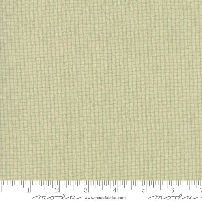 Boro Woven Foundations by Moda Fabrics - 12561 22 Mini Plaid on Flax