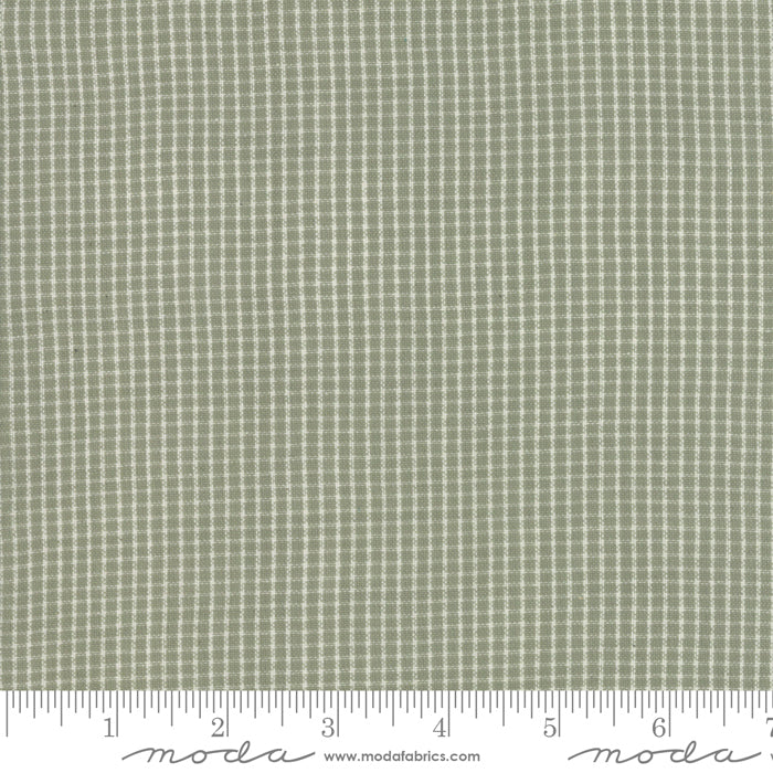 Boro Woven Foundations by Moda Fabrics - 12561 17 Mini Plaid Taupe