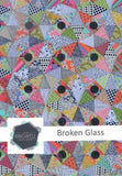 Broken Glass Quilt Pattern and Acrylic Templates designed by Jen Kingwell