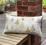 Champagne Christmas Cushion pattern by Louise Papas for Jen Kingwell Designs
