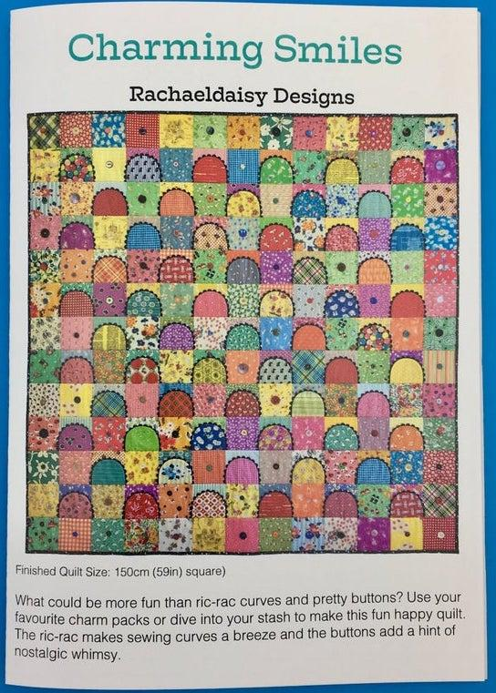Charming Smiles quilt pattern by Rachaeldaisy Designs